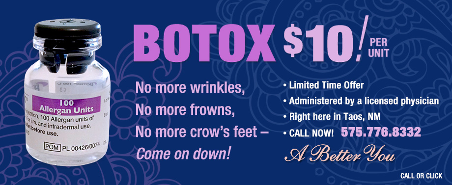 Botox - taos - Dr. Marshall Reich